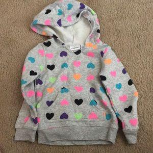 Jumping Beans hooded sweatshirt 4T